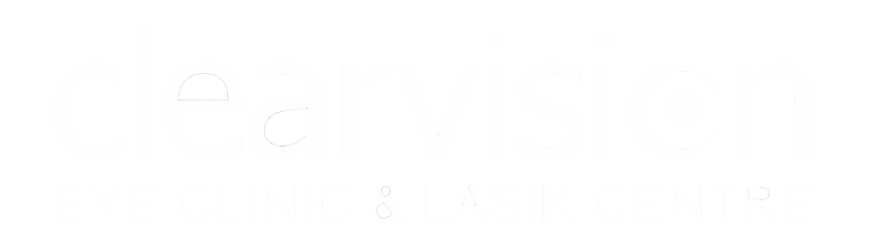 Clearvision logo white copy